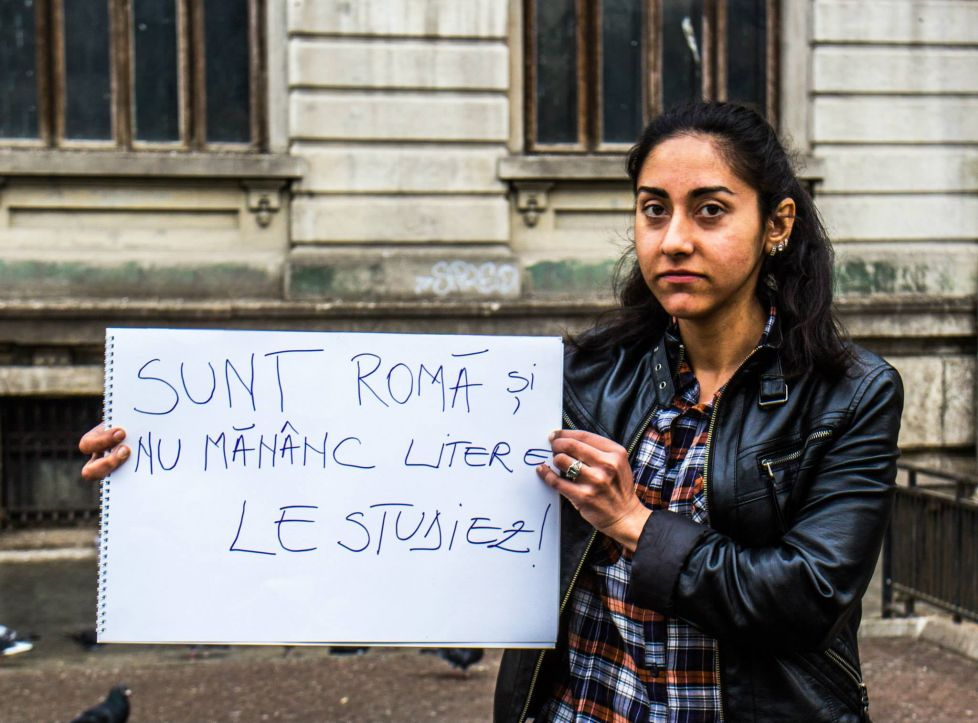 roma tiganca romanca litere campanie ziua internationala a tiganilor
